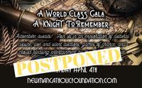 Newman Gala is Postponed