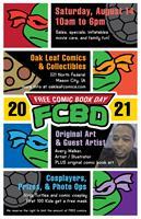FREE Comic Book Day 2021 at Oak Leaf Comics & Collectibles