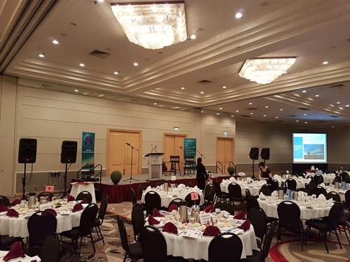 Corporate Event P.A. system with Video