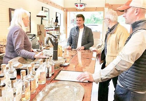 Jack Maxwell as seen on the Travel Channel a the distillery