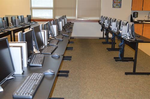 New computers in our Tech Lab