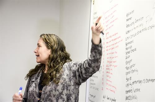 Carmen Hoover - English Instructor