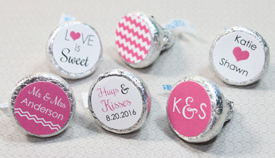 Hershey's Kisses Stickers