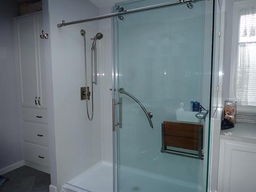 We remodel bathrooms...