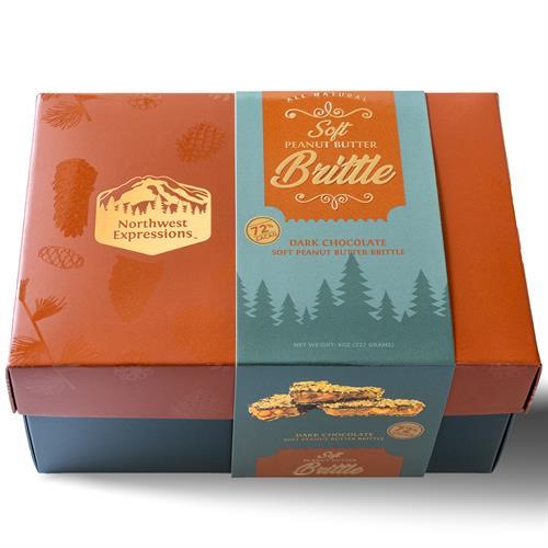 Soft Peanut Butter Brittle Gift Box