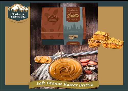 Soft Peanut Butter Brittle