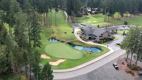 Alderbrook Golf Course Clubhouse