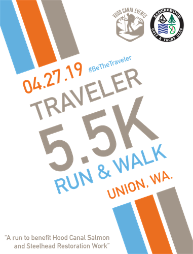 The Traveler 5.5k Walk/Run Apr 27 at Alderbrook Golf Club