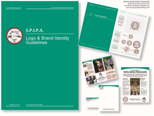 Company branding guidelines for S.P.I.P.A.
