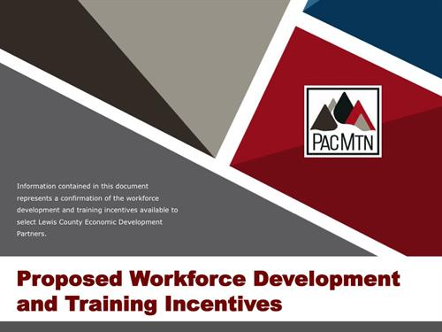 PowerPoint presentations for PacMountain Work Source