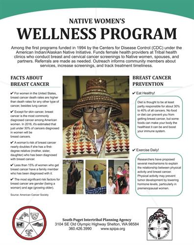 Wellness program flier design for S.P.I.P.A.