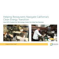 Helping Restaurants Navigate California's Clean Energy Transition