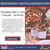 Restaurant Relief Revitalization Fund Webinar