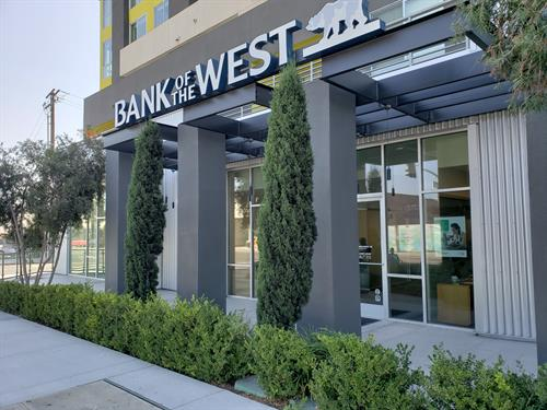 Bank of The West BNP Paribas Culver City