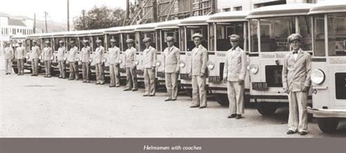 Helmsmen and their coaches