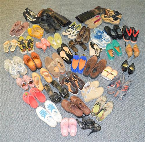 Donated Shoes