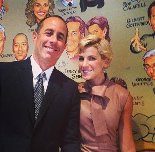 Our Founder Jessica Seinfeld and her husband, Jerry Seinfeld