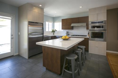 Kitchen at 10843 Farragut Dr. in Culver City