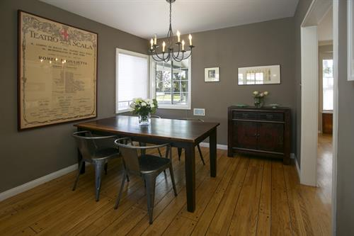 Dining room at 10843 Farragut Dr. in Culver City