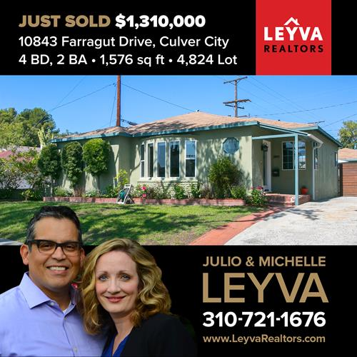 10843 Farragut Dr. Culver City - SOLD in just 5 days!