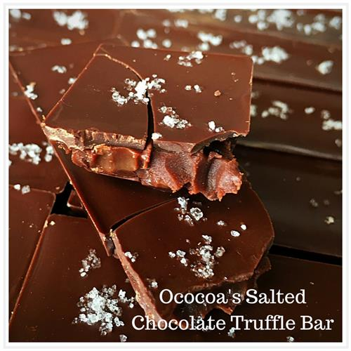 Ococoa's Salted Chocolate Truffle Bar