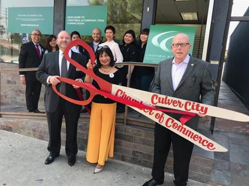 Cristobal and Company, CPAs Chamber of Commerce Welcome