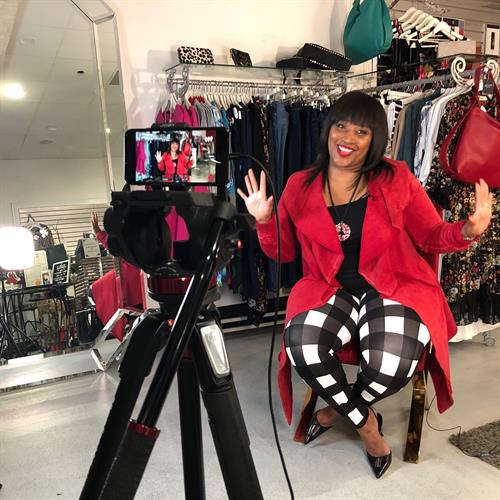Interviewing Candance Simmons, owner of All That & MORE Boutique.