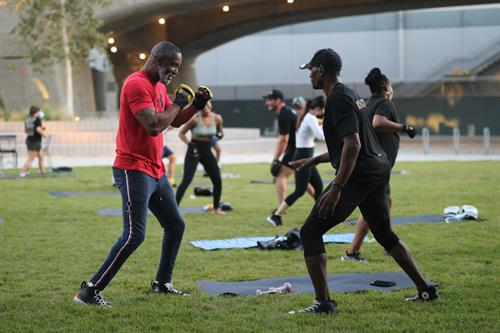 Mayweather Boxing + Fitness - One on One Attention