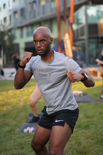Mayweather Culver City Boxing + Fitness Member Boxing