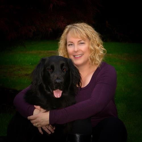 One of my favorite dogs!  We're Both Smiling!   Connie Debs, Gig Harbor, WA