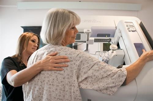 Low Radiation 3D Mammography