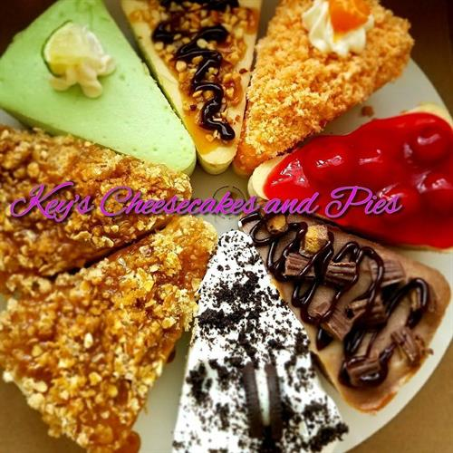 Variety Flavored Cheesecake