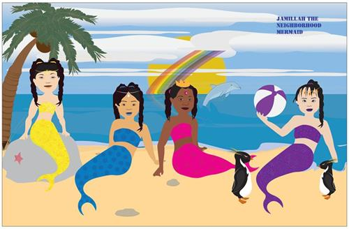Down Syndrome Mermaids     Poster