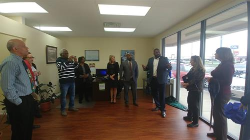 Bryan Heyward our CEO addressing Staff and Clients