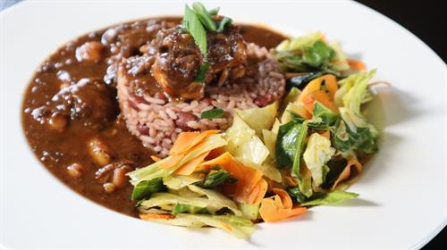 Jamaican Oxtail with Gravy entree