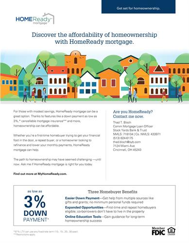 Get set for homeownership.