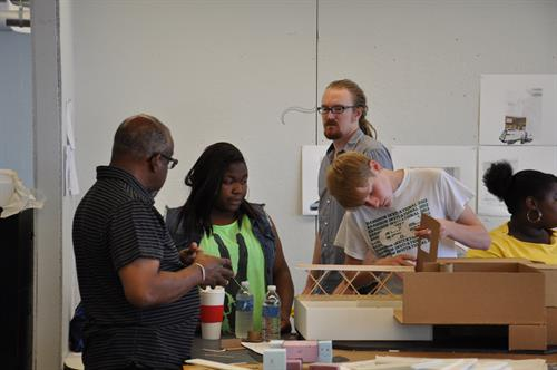 Mentoring at the Summer Architecture CAMP