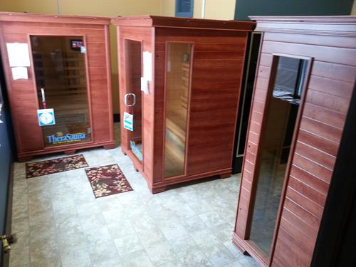 Infrared Saunas included free in all memberships-use 24 hrs per day
