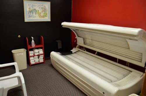 Tanning included free in all memberships & day passes 24 hrs per day