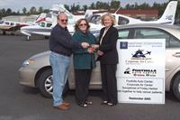 Camry Donation for cancer patients flying in from the San Juan islands for chemo treatment