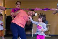 Brigid Collins provides Family Activity Nights for families.