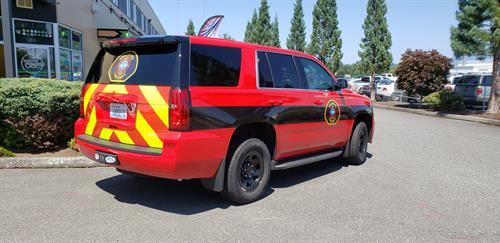 Emergency Vehicle Striping and Chevrons