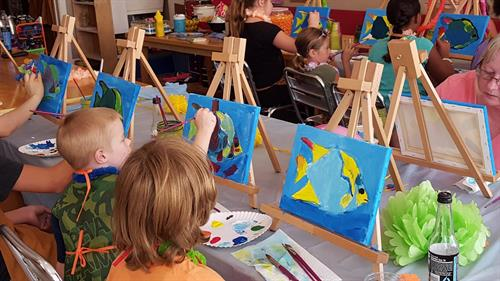 Kids Events:  Paint Parties for Birthdays, etc.