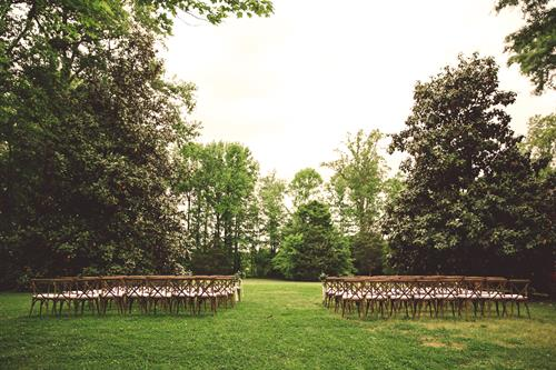Ceremony Installation at Seven Springs