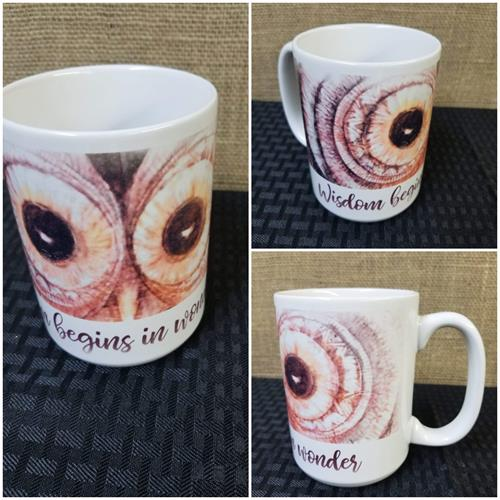 Mug with artwork of Milly Horner