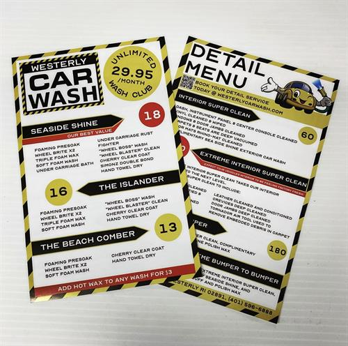 Flyers Printing as well as Direct Mailing full Service