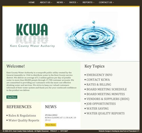 Kent County Water Authority RI