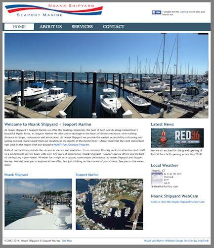 Noank Shipyard and Seaport Marine, Mystic CT