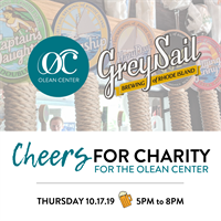 Olean Center Cheers for Charity at Gray Sail Brewery of Rhode Island Tap Room