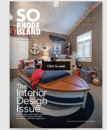 MARCH 2016 SO RHODE ISLAND MAGAZINE COVER